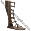 ROMAN-15 Brown Faux Leather